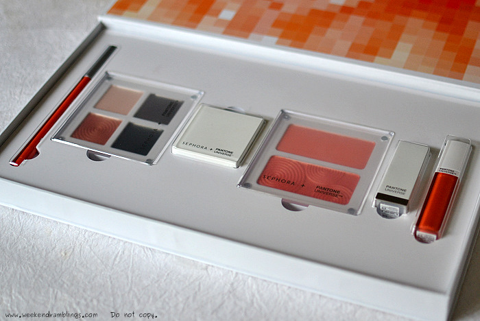sephora beauty collection pantone universe colour of the year tangerine tango