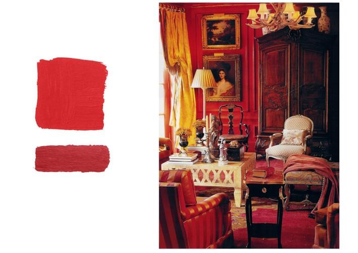 Libreria: rosso su rosso