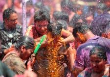 INDIA-FESTIVAL-HOLI