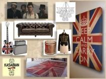 Interior design mood board - Tavola delle emozioni per architetti di interni