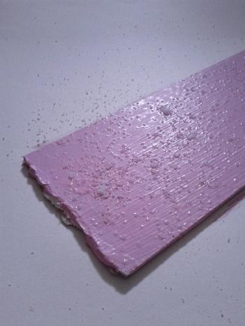 Colore rosa zucchero per la vernice di fondo della trasportina per dolci e cupcakes