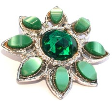 silver-emerald-green-gem-stone-and-glass-brooch