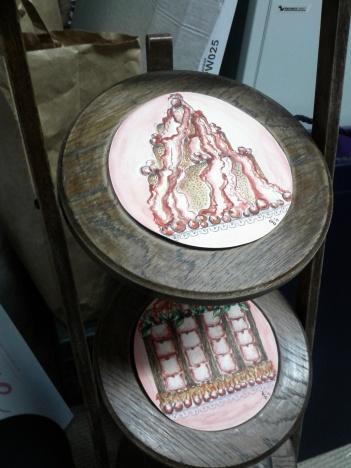 Trasportina per torte da verniciare