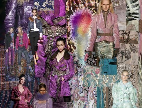 Fashion Mood board - Tavola delle emozioni per la moda
